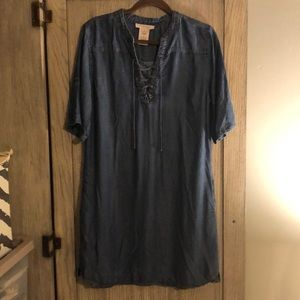 Philosophy Denim Dress - Size Large